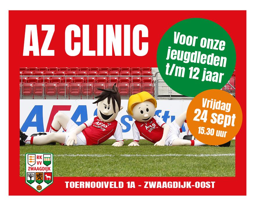 AZ Clinic - vrijdag 24 september 2021
