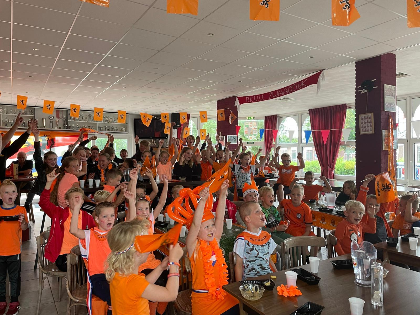 EK wedstrijd Nederland – Noord-Macedonië